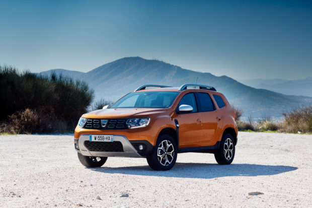 2018 Dacia Duster neues Orange