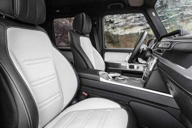Mercedes W464 Sitze