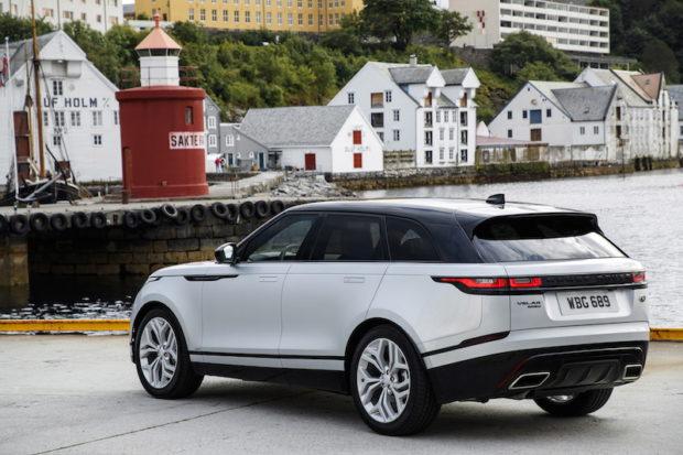 Range Rover Velar Heck