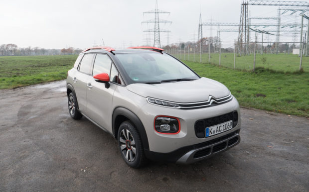 Citroen C3 Aircross Orange Paket