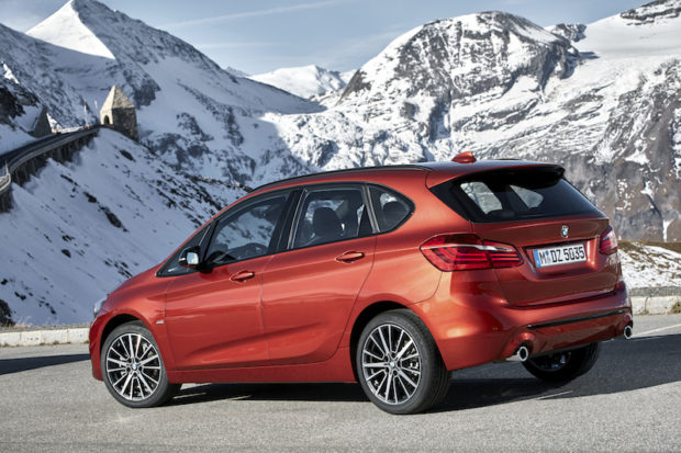 BMW 2er Active Tourer 2018 Sunset Orange