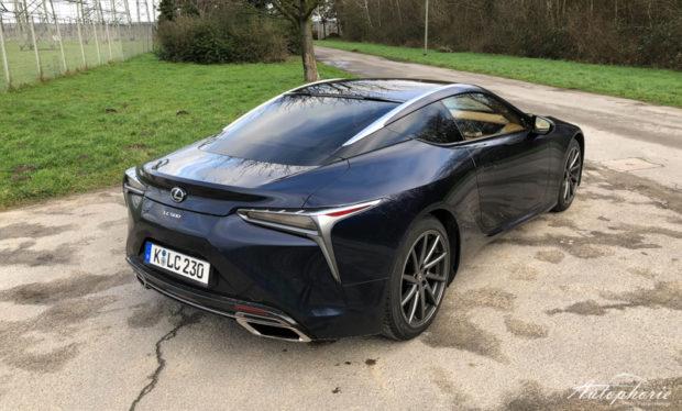 Lexus LC 500 Heck