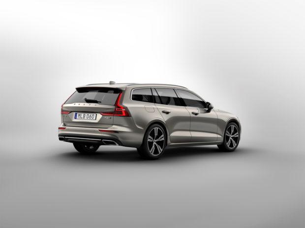 2018 Volvo V60 Heck