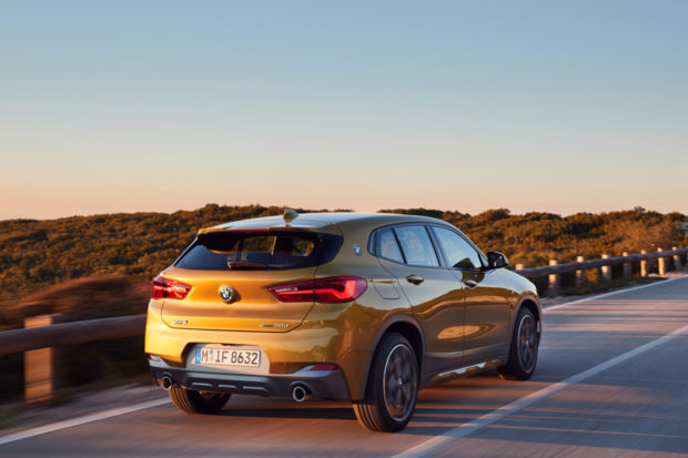 BMW X2 F39 Galvanic Gold M Sport X