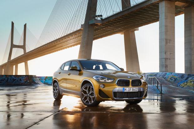 BMW X2 F39 Galvanic Gold