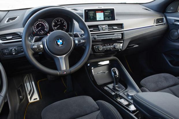 BMW X2 F39 Innenraum