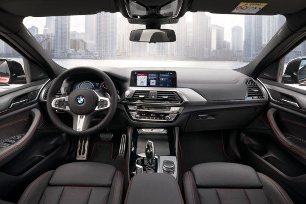 BMW X4 G02 Cockpit