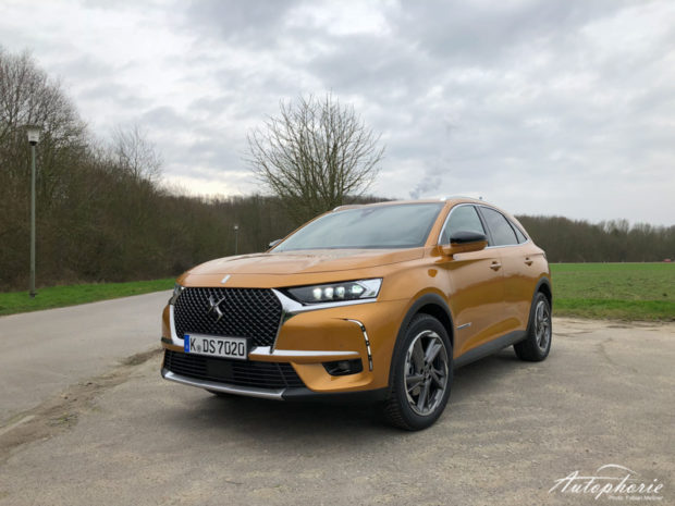 DS7 Crossback Front