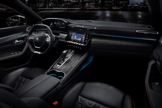 2018 Peugeot 508 Cockpit