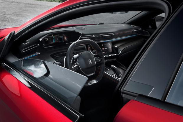 2018 Peugeot 508 Seitenscheiben