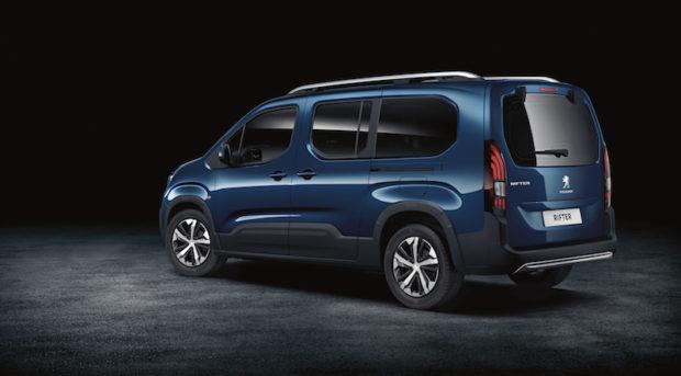 Peugeot Rifter XL Heck