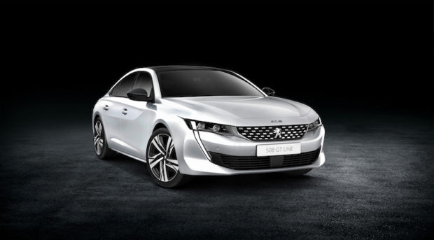 2018 Peugeot 508 Front weiss