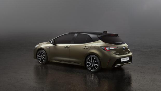 2018 Toyota Auris Heck