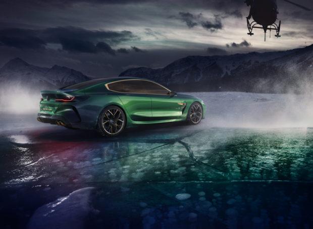 BMW Concept M8 Gran Coupé Heck