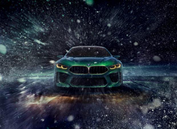 BMW Concept M8 Gran Coupé Front