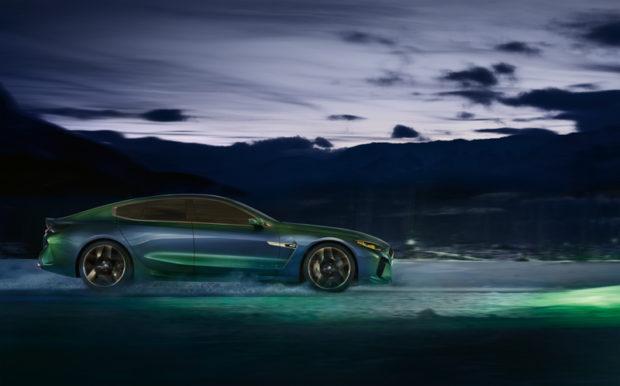 BMW Concept M8 Gran Coupé Seitenlinie
