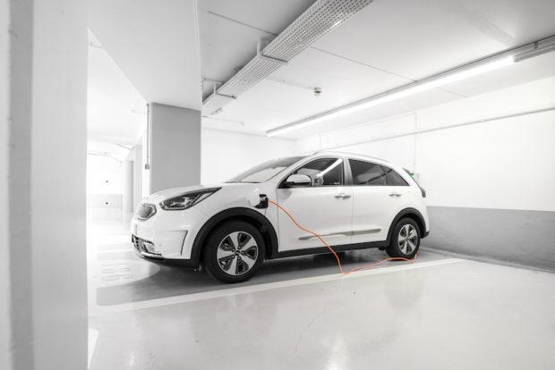 Kia Niro Plug-in Hybrid Aufladen