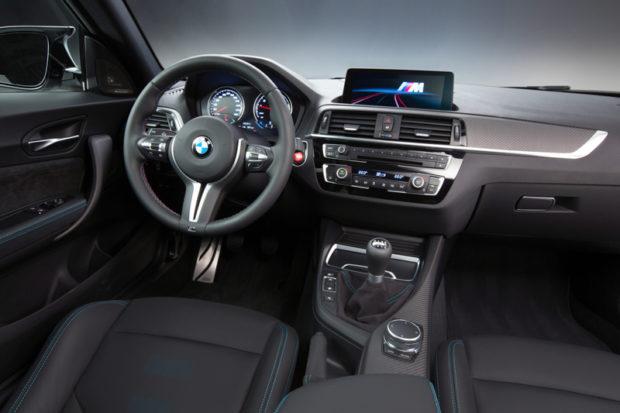 BMW M2 Competition Cockpit