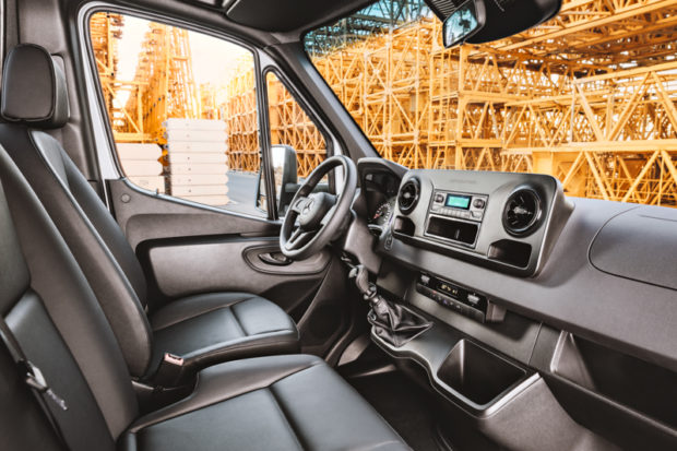 Interieur Mercedes-Benz Sprinter 2018