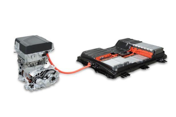 2018 Nissan Leaf Antrieb und Batterie