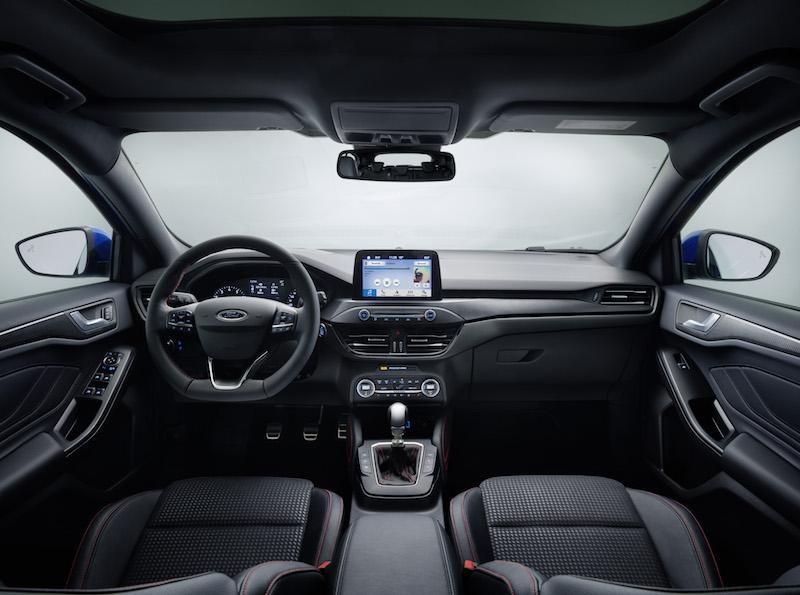 Ford focus 2018 st line innenraum for Innenraum design app