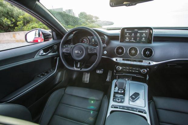 Kia Stinger GT Innenraum