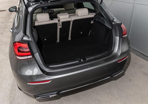Neue A-Klasse Kofferraum Öffnung