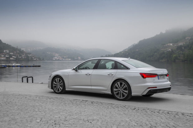 Audi A6 55 TFSI quattro S Line Heck