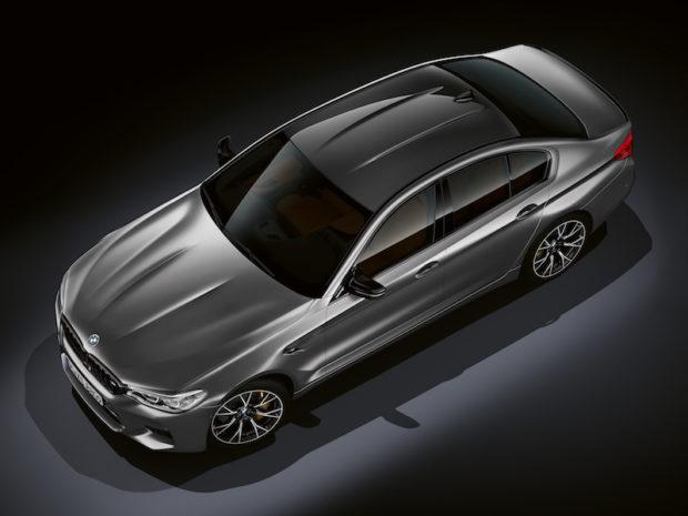 BMW M5 Competition Draufsicht