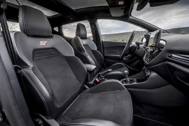 2018 Ford Fiesta ST Recaro Leder-Sitze