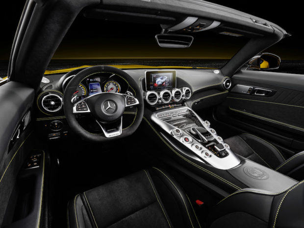 Mercedes-AMG GT S Roadster Interieur