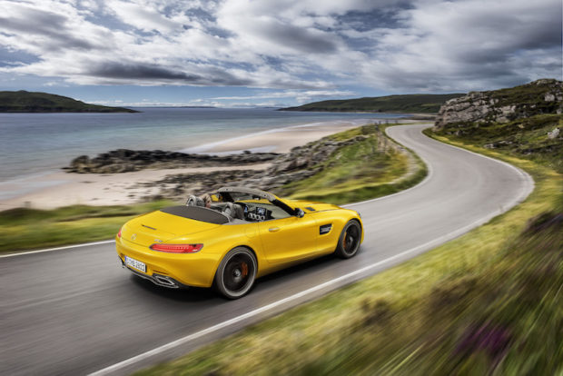 Mercedes-AMG GT S Roadster Heck