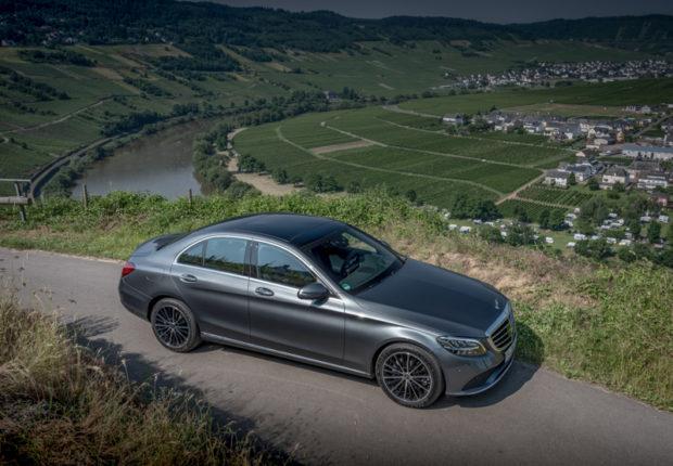 2018 Mercedes-Benz C-Klasse Selenitgrau