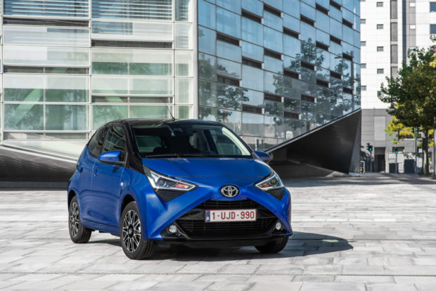 2018 Toyota Aygo Front