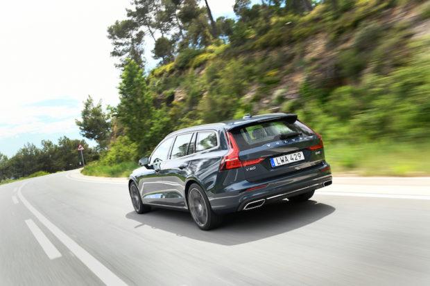 Volvo V60 D4 Heckansicht