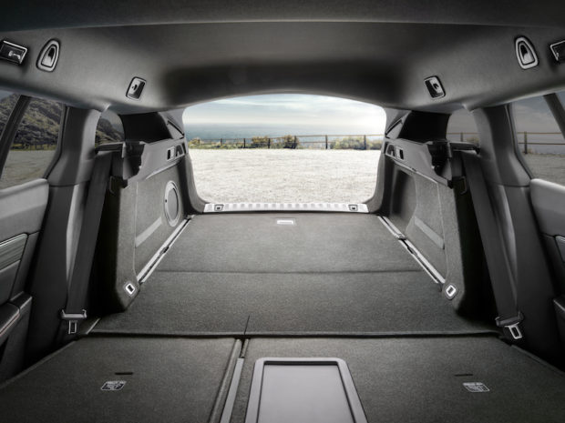 Peugeot 508 SW Kofferraum