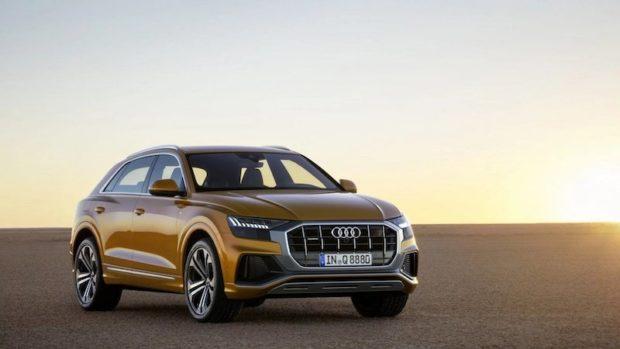 Audi Q8 Front