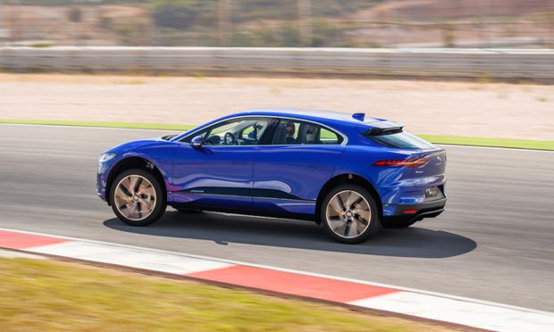 Jaguar I-Pace Rennstrecke