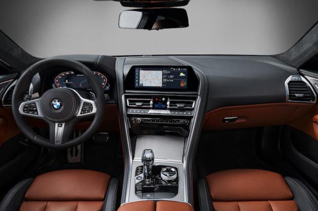 BMW 8er Coupé G15 Cockpit