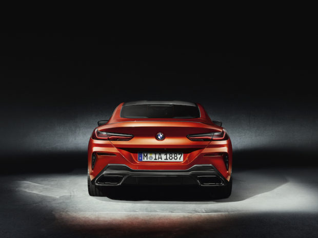BMW 8er Coupé G15 Carbon Paket Heck