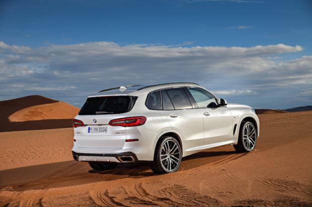BMW X5 G05 stehend