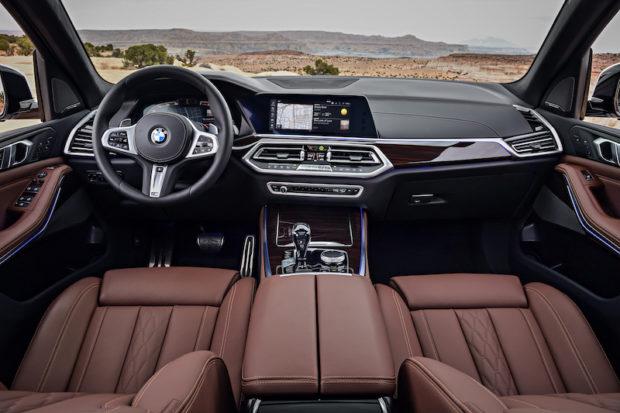 BMW X5 G05 Cockpit