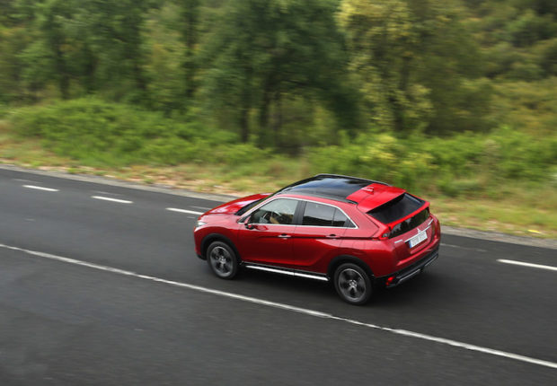 Mitsubishi Eclipse Cross Draufsicht