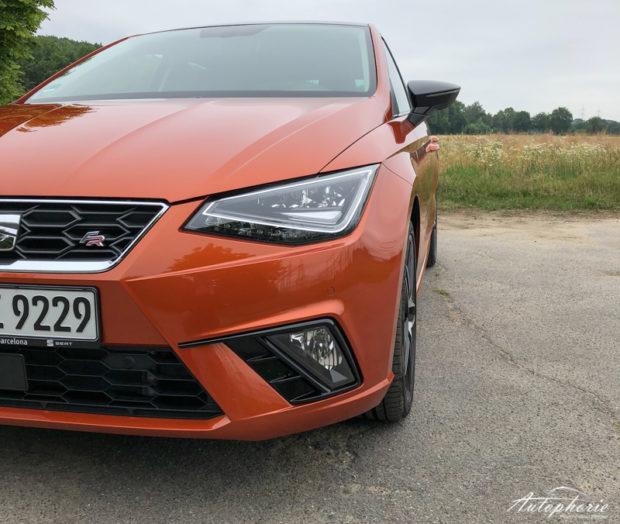 Seat Ibiza 1.5 TSI FR Front