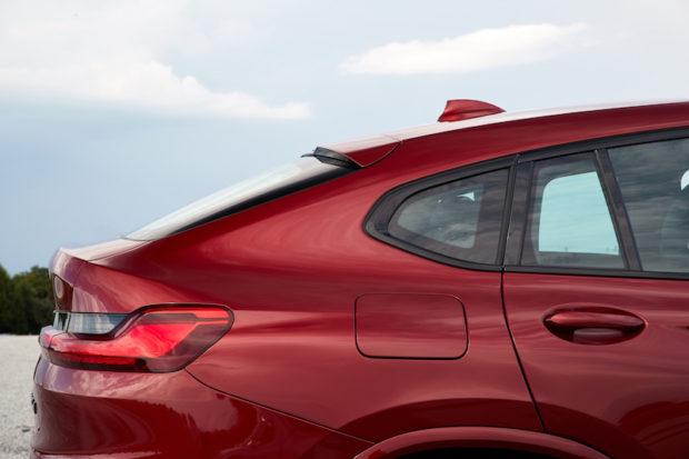BMW X4 M40d Dachlinie