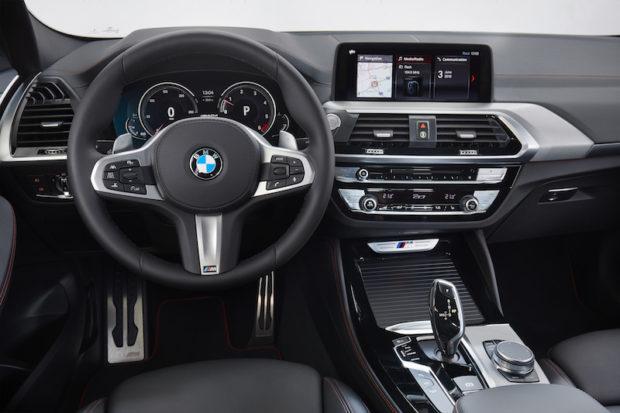 BMW X4 M40d Lenkrad