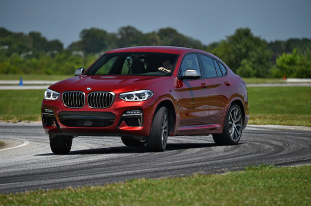 BMW X4 M40d Drift