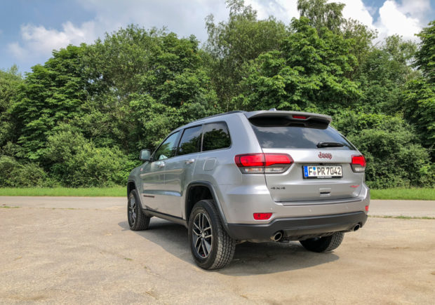 Jeep Grand Cherokee Trailhawk Heck
