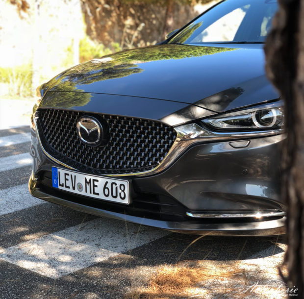Mazda6 Facelift 2018 Grill
