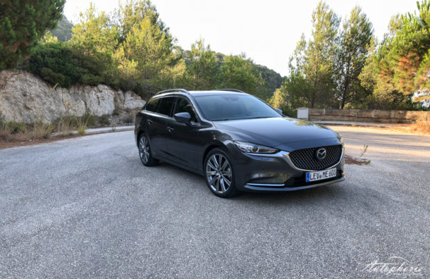 Mazda6 Facelift 2018 Matrixgrau Metallic
